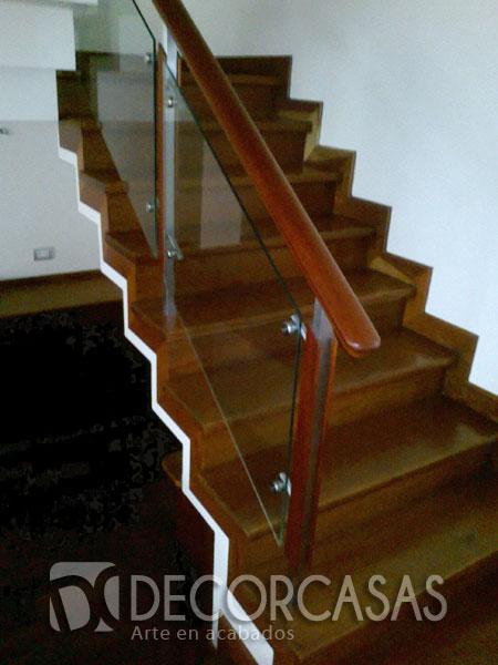 Escaleras escaleras de madera per escaleras revestidas for Modelos de gradas de madera