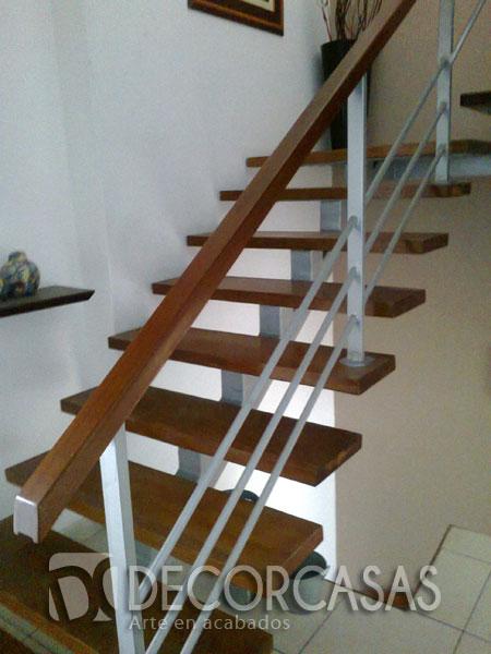 Escaleras escaleras de madera per escaleras revestidas for Escalera de madera 5 pasos