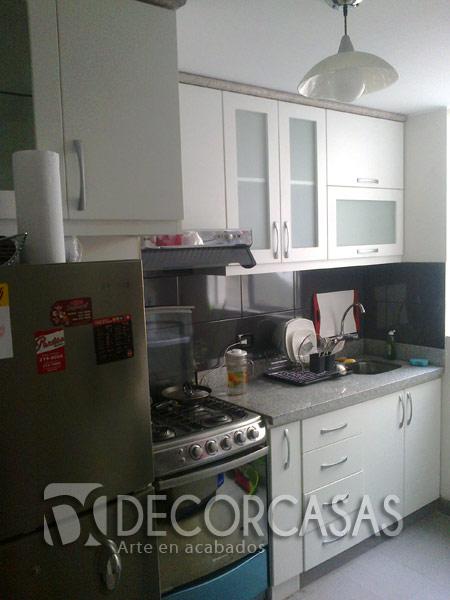 Tablero granito cocina muebles de cocina en melamine for Tableros para encimeras cocina
