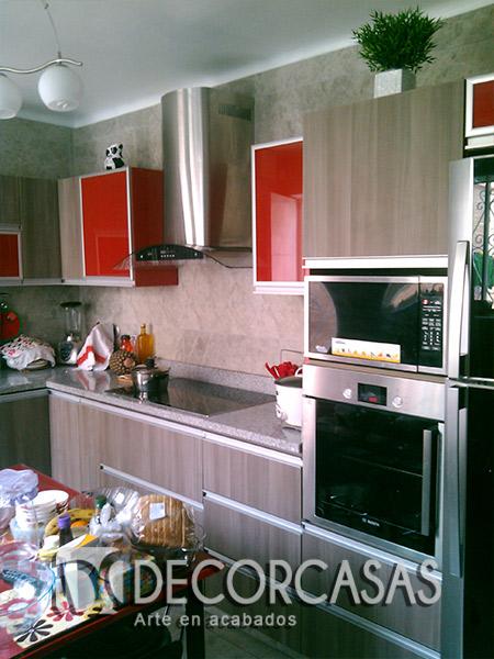 Muebles de cocina en melamine per muebles de melamine for Mueble cocina americana