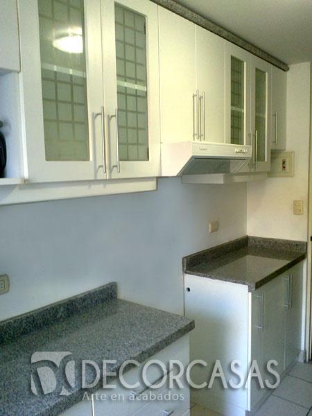 Muebles de cocina en melamine per muebles de melamine - Puertas de cocina de cristal ...
