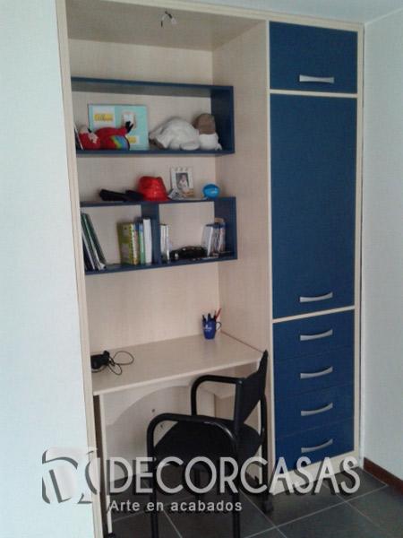 Muebles de dormitorio closet de melamine roperos de for Closet de dormitorio