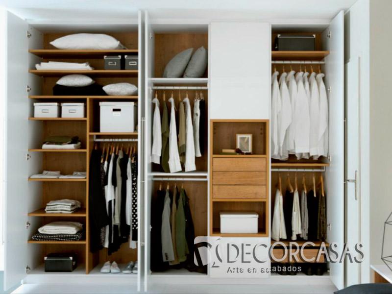 Muebles de dormitorio closet de melamine roperos de for Closet en melamina modernos