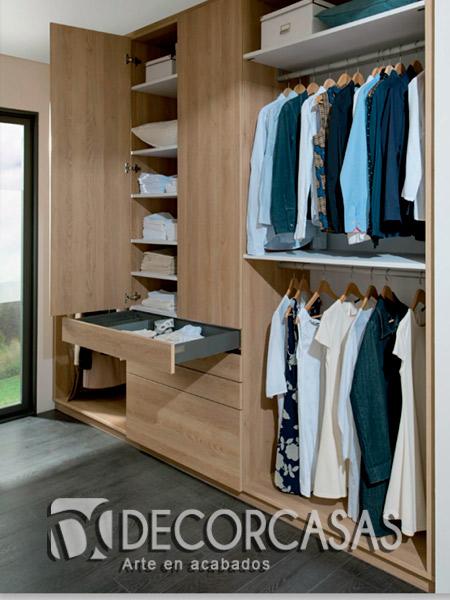 Armario Rinconera Barato ~ Closet Moderno Con Espejo Armario Tipo Vestier Closets De