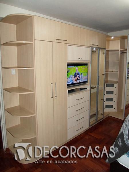 Muebles de dormitorio closet de melamine roperos de for Muebles de dormitorio lima