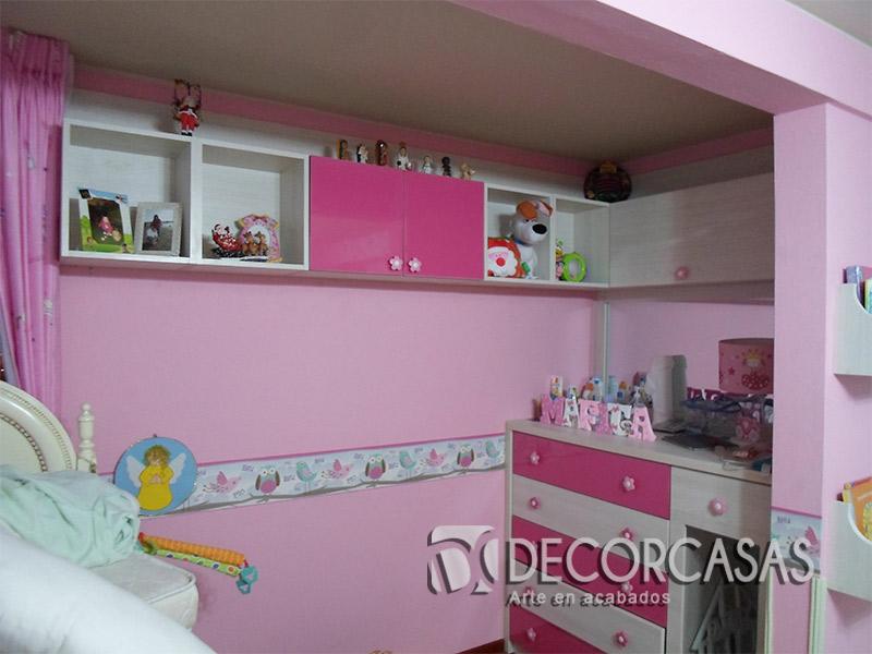 Muebles de dormitorio closet de melamine roperos de for Muebles de dormitorio para ninos