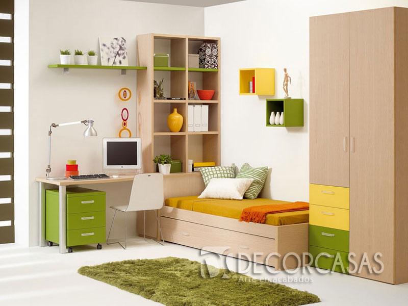 Muebles de dormitorio closet de melamine roperos de for Escritorio para recamara