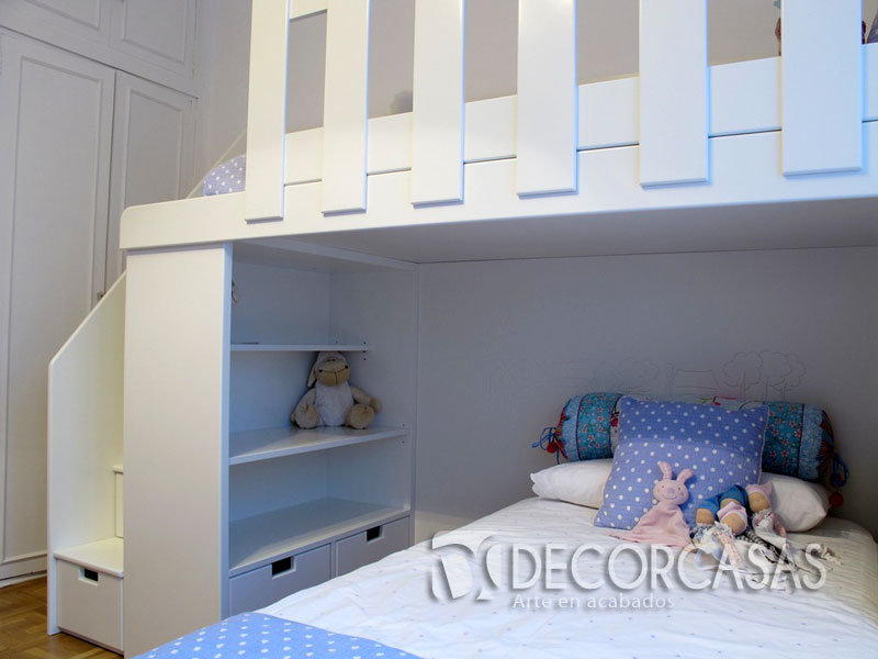 muebles de dormitorio, closet de melamine, roperos de melamine ... - Muebles De Dormitorio Para Ninos