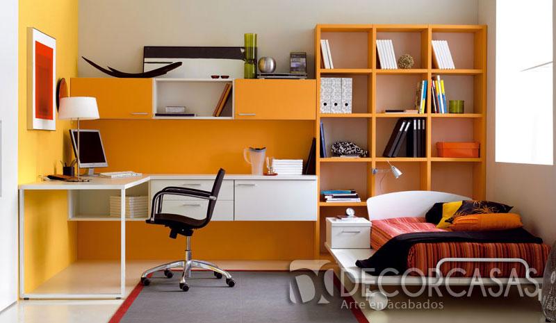 Muebles de dormitorio closet de melamine roperos de for Dormitorios con poco espacio