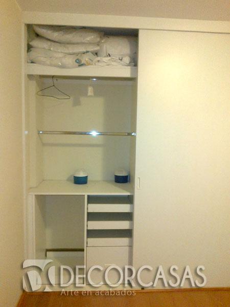 Muebles de dormitorio closet de melamine roperos de for Zapateras para ninas