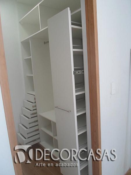 Muebles de dormitorio closet de melamine roperos de for Muebles walking closet