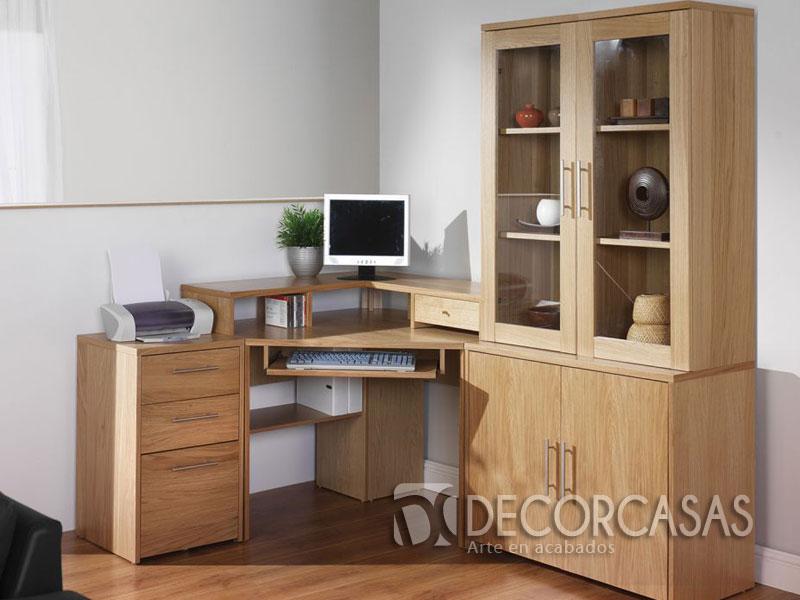 Muebles para oficinas en melamine, escritorios de melamine, armarios ...