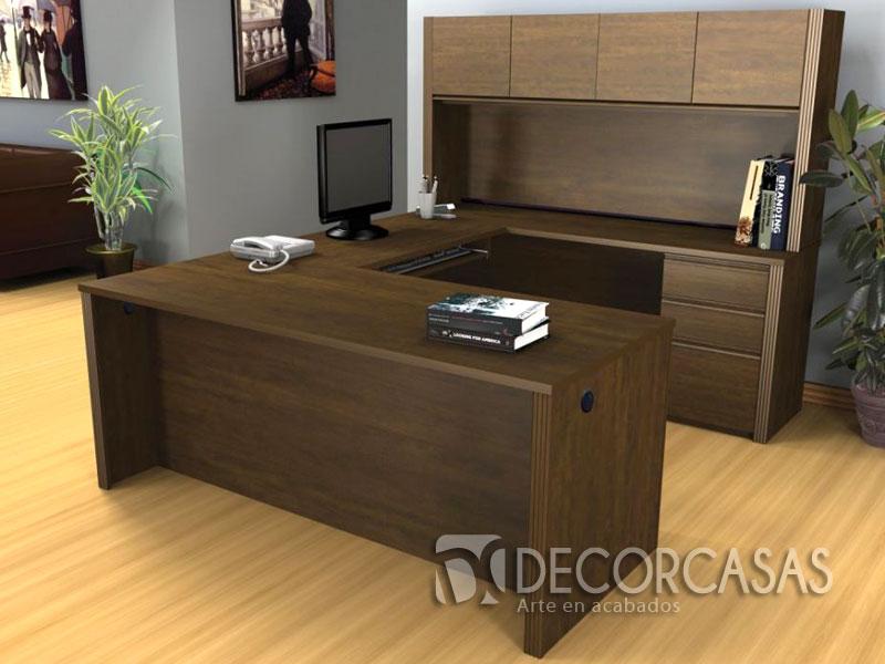 Muebles para oficinas en melamine escritorios de melamine for Muebles de escritorio baratos
