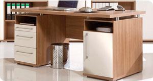 Muebles para oficinas en melamine escritorios de melamine for Planos de escritorios en melamina