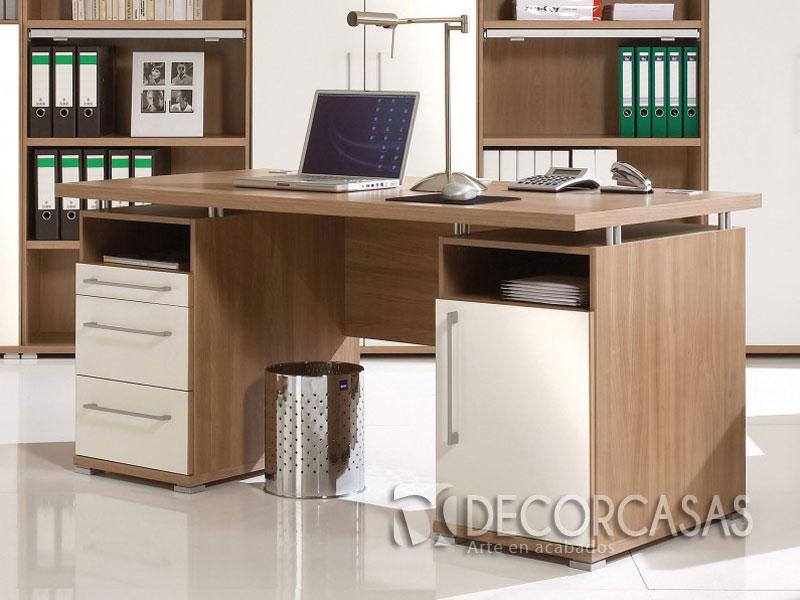 Muebles para oficinas en melamine, escritorios de melamine, armarios para ofi...