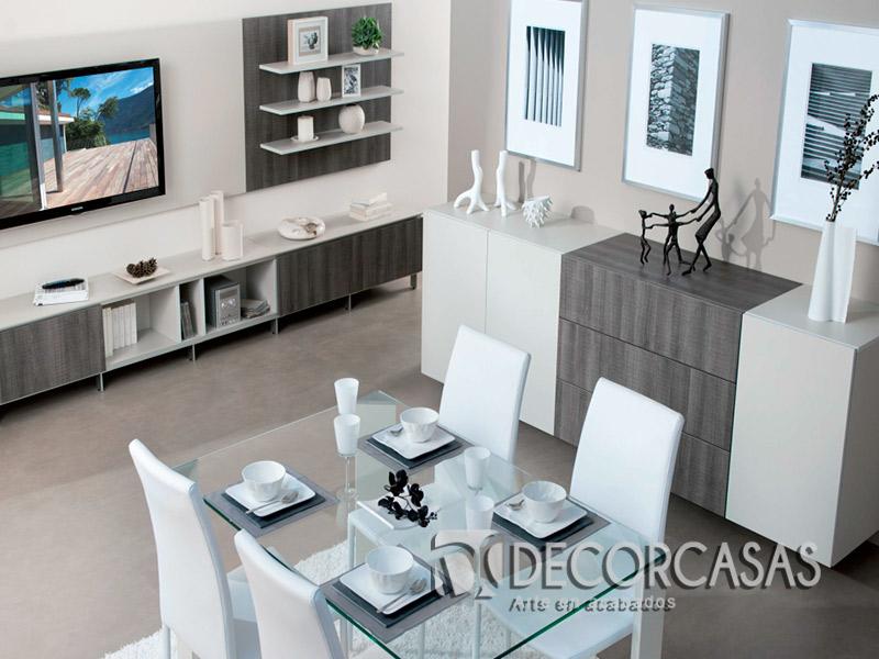 Muebles de sala en melamine muebles modernos centros de for Mueble comedor minimalista