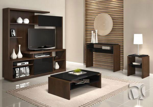 Muebles de sala en melamine muebles modernos centros de for Muebles de sala en l modernos