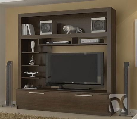 Muebles de sala en melamine muebles modernos centros de for Mueble de entretenimiento