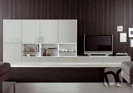 Muebles de sala en melamine, muebles modernos, centros de ...
