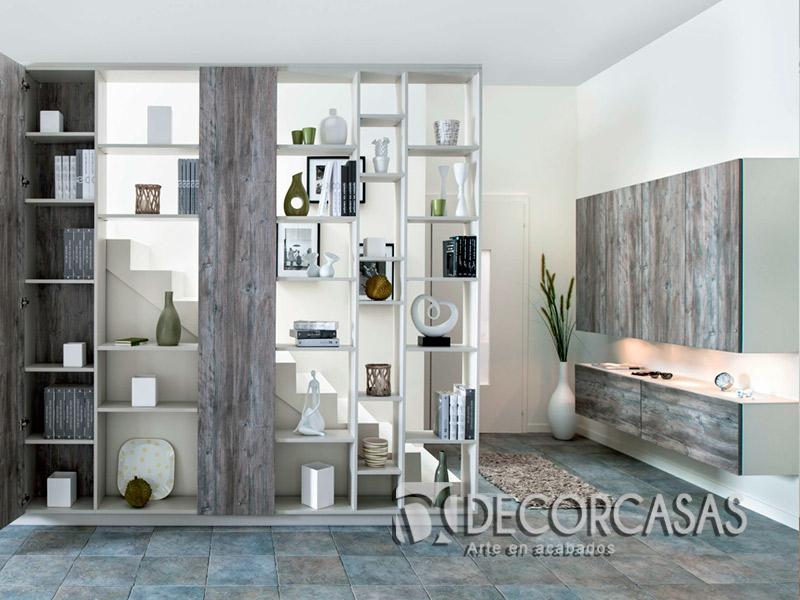 Muebles de sala en melamine muebles modernos centros de - Muebles separador de ambientes ...