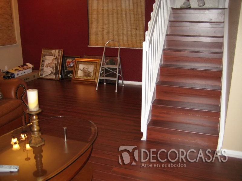 Tipos De Loseta Para Baño:Los suelos laminados los podemos usar tanto para piso como escaleras