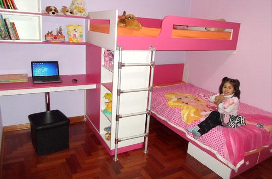 muebles de dormitorio, closet de melamine, roperos de melamine